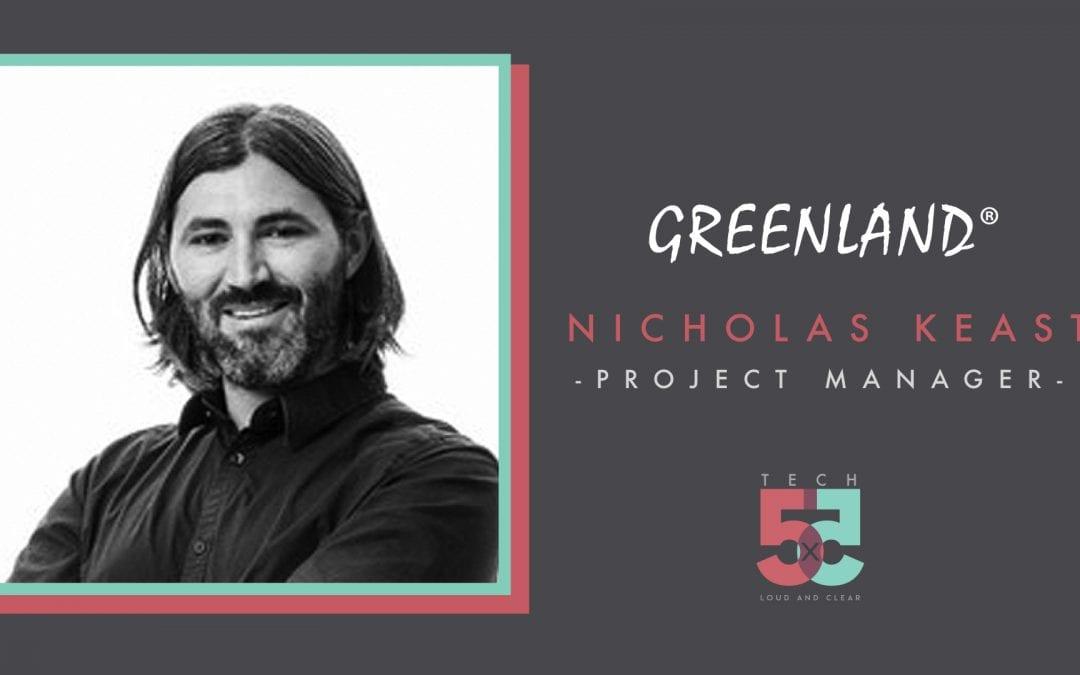 Tech 5×5: Nicholas Keast