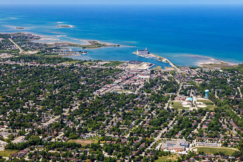 Cwood from the Air