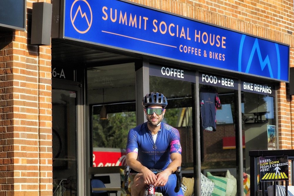 Introducing Collingwood's Only Bike Café